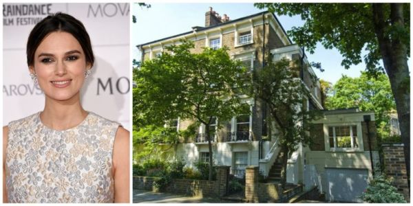Keira Knightley just purchased this five-bedroom home in London for $6.5m