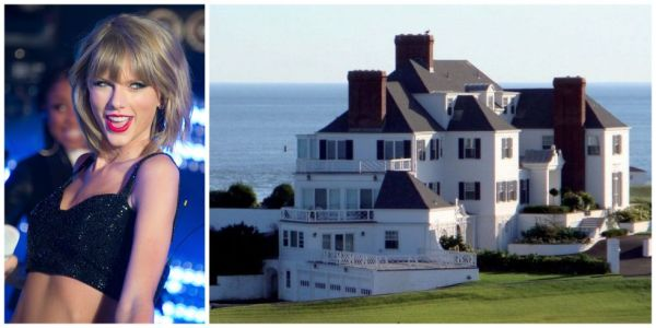 Taylor Swift paid $17.75m for this Rhode Island Mansion.
