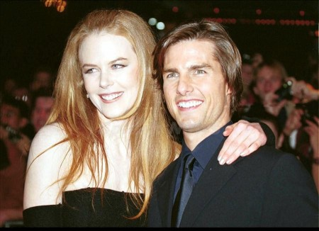Tom Cruise and Nicole Kidman at the Eyes Wide Shut premiere