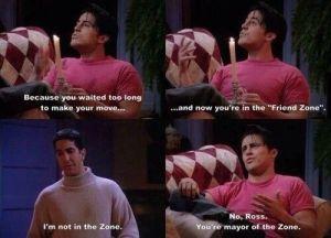 Joey Friends Zone