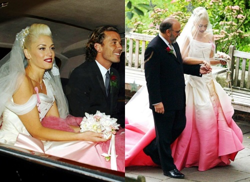 The marriage may be over, but Gwen Stefani's pink dip-dyed Dior will rock on forever