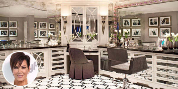 Kris Jenner's bathroom