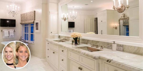 Jessica Simpson - and now...Jennifer Lawrence bathroom
