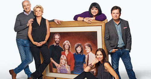 The cast of Family Ties THEN...