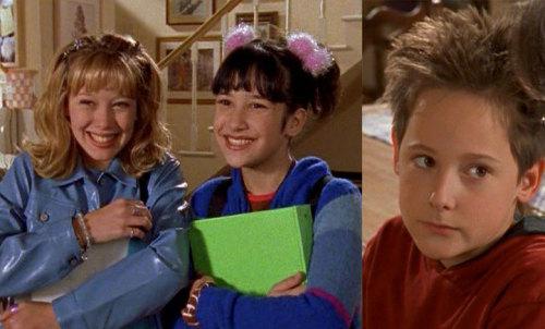 Lizzie McGuire cast THEN...