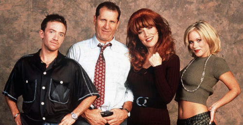 The cast of Married...with Children THEN...