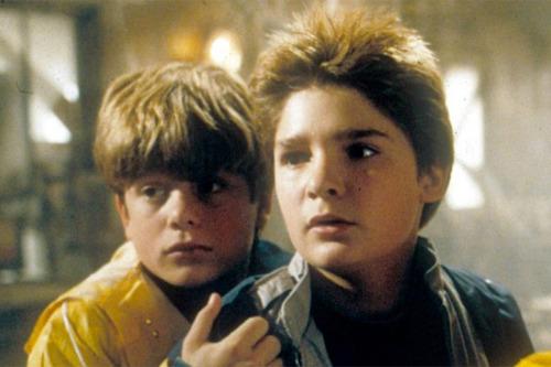 Sean Astin and Corey Feldman THEN...