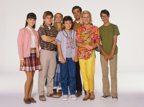 The cast of The Wonder Years THEN...
