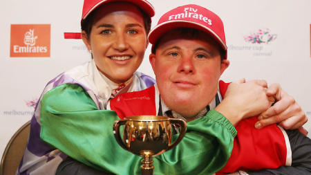 Michelle Payne, with her brother Steven, gave us the year's best quote