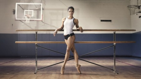 Feminine, strong and super-talented Misty Copeland