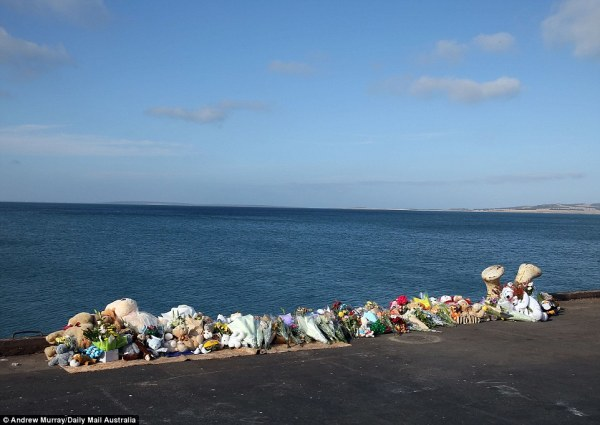 A makeshift memorial site has been created by all their loved ones leaving beautiful messages.