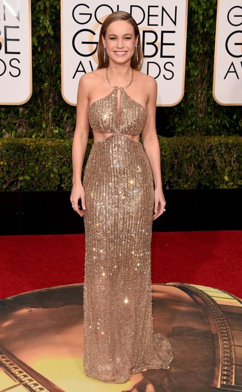 Brie Larson in Calvin Klein