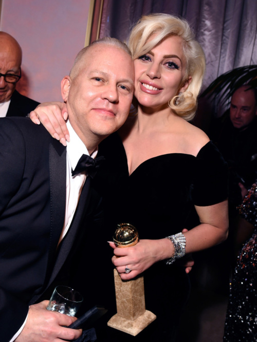 Lady Gaga and Ryan Murphy