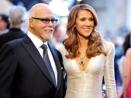 Celine and her late husband Rene