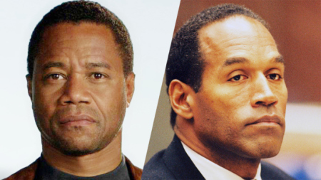 Cuba Gooding Jnr. as O.J. Simpson