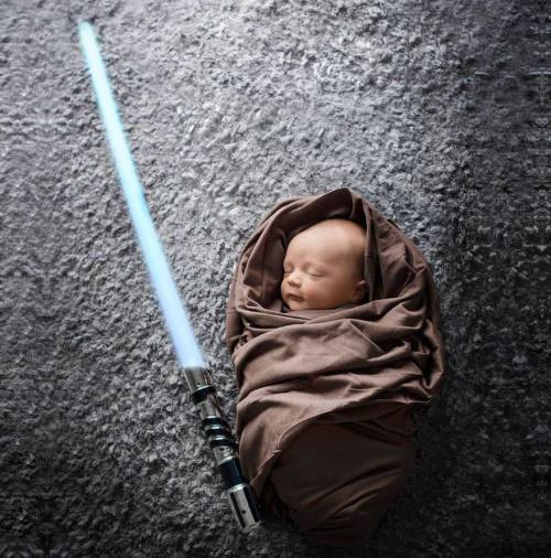 Baby Luke Skywalker