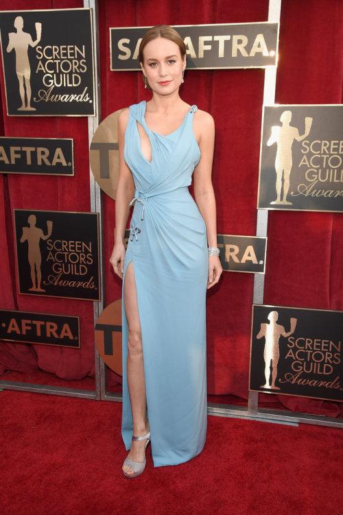 Trainwreck actress Brie Larson in Atelier Versace