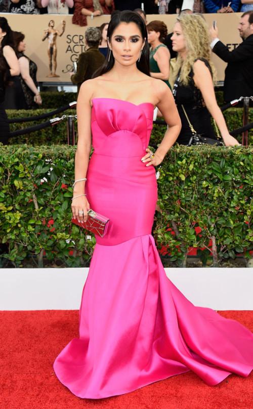 Diane Guerrero is Pretty in pink!
