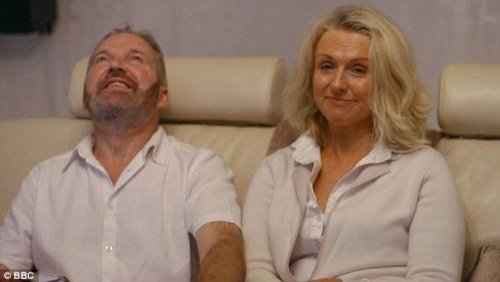 Simon and his wife Debbie