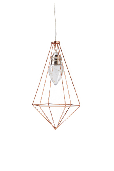 Typo_pyramid hanging cage light_$19.99