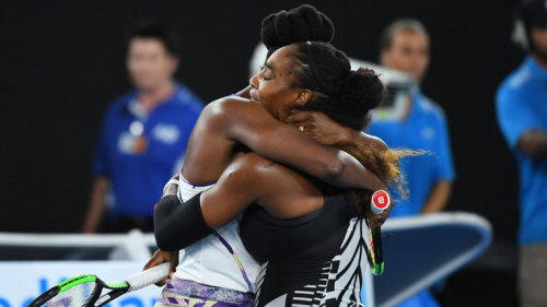 Venus and Serena. Sisters and bloody legends.