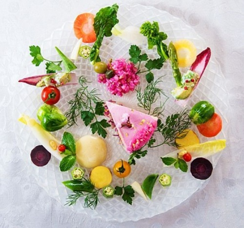 """A beautiful and ridiculously healthy """"dessert"""" platter"""
