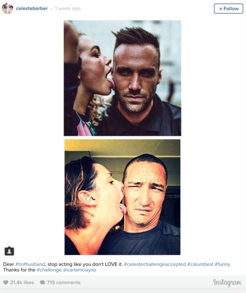 Image: Instagram @celestebarber