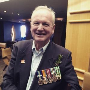 My dad last year on ANZAC day
