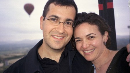 Sheryl Sandberg husband Dave Goldberg who died in an accident just over a year ago
