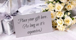 You Should Spend How Much On A Wedding Gift