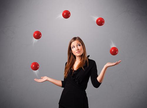 So. Many. Balls.