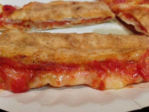 BEHOLD! The Poastie: the pizza/toastie. Even better than fresh pizza.