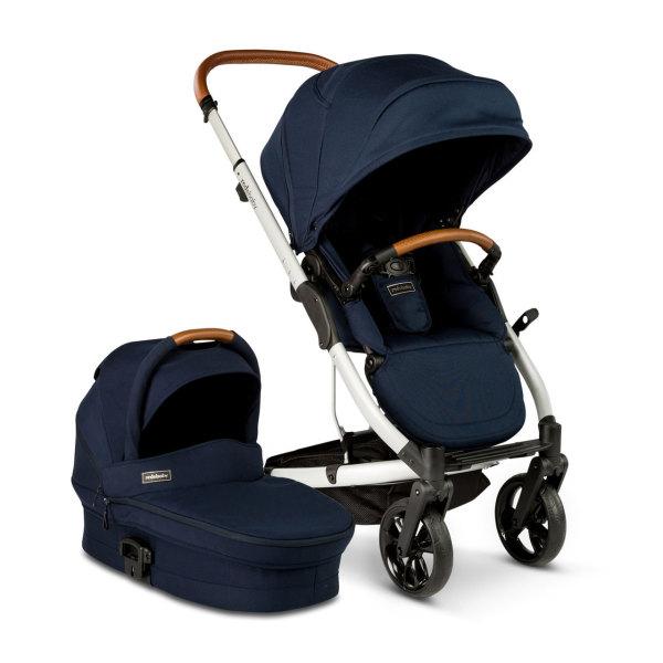 Reds Baby Jive Single Pram - $849. https://www.redsbaby.com.au/jive-single-stroller-bassinet-indigo/