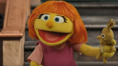 Welcome to the Sesame Street family Julia!