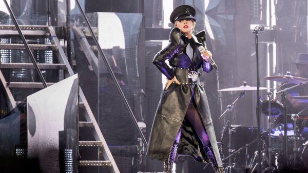 Lady Gaga performing 'The Cure' at Coachella