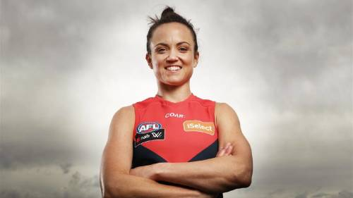 Daisy Pearce is an AFLW player for Melbourne