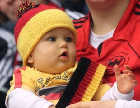 german baby