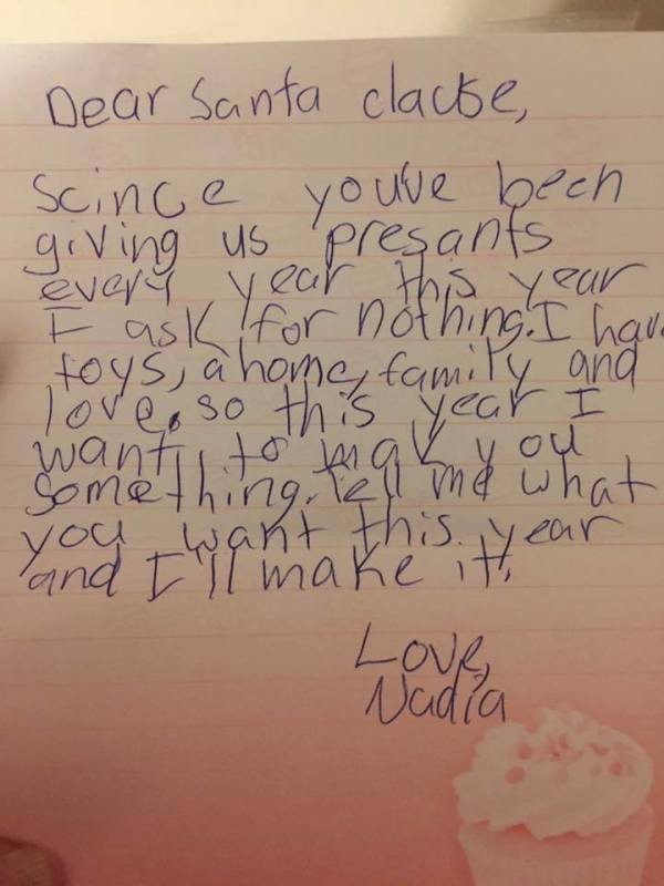 santa clause letter