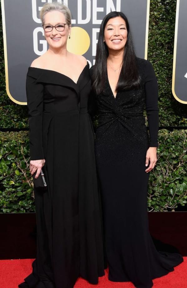Meryl Streep and director, Ai-Jen Poo
