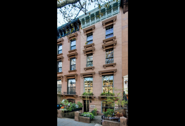 The home's exterior in the Carroll Garden's area of Brooklyn. Image: Brown Harris Stevens