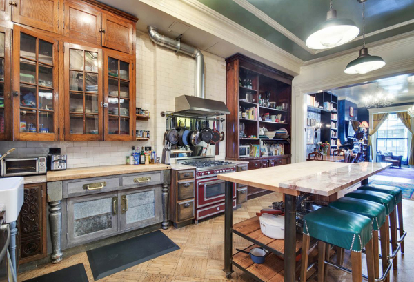 Rustic kitchen dreams. Image: Brown Harris Stevens